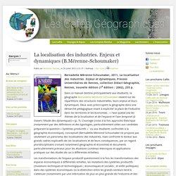 La localisation des industries. Enjeux et dynamiques (B.Mérenne-Schoumaker)