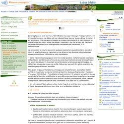 Localisation du gène TDF- Sciences de la vie et de la Terre