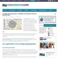 La géo-localisation : intérêt et enjeux pour le marketing