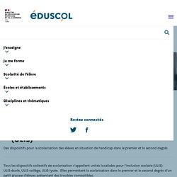 Les unités localisées pour l'inclusion scolaire (ULIS)