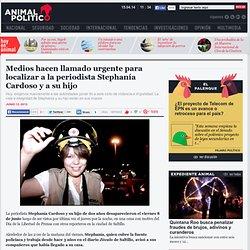 Medios hacen llamado urgente para localizar a la periodista Stephanía Cardoso y a su hijo