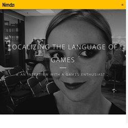 Localizing the language of gamers - Nimdzi