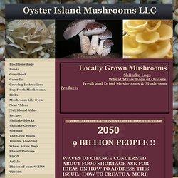 Locally grown Mushrooms