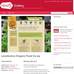 Localmotive Organic Food Co-op