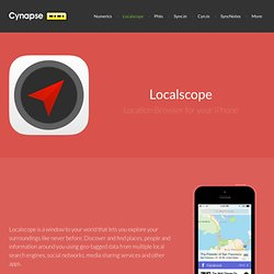Localscope - Location browser for your iPhone