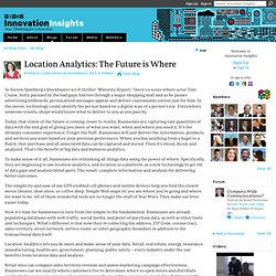 Location Analytics: The Future is Where