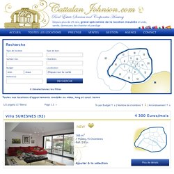 Location appartement meublé ou vide Paris – Cattalan Johnson