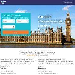 Location d'appartements à Londres - A partir de 33€/nuit