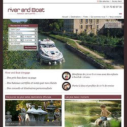 River and Boat produit