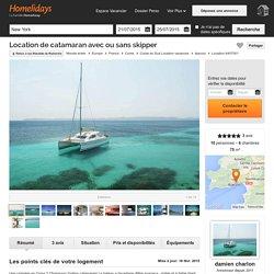 Location de catamaran avec ou sans skipper - Corse du Sud