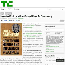 How to Fix Location-Based People Discovery