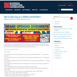 Shop Express Furniture Warehouse Blog