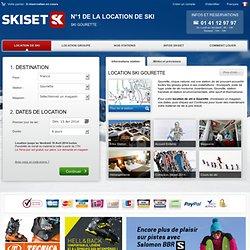 Location ski Gourette - SKISET - Location matériel ski Gourette