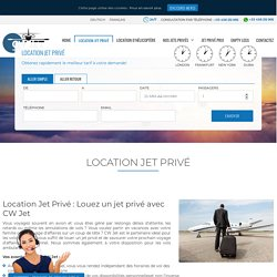 Location un jet privé