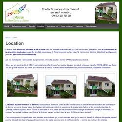 Location - La Maison du Bien-être et de la Santé