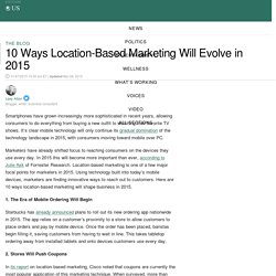 10 Ways Location-Based Marketing Will Evolve in 2015