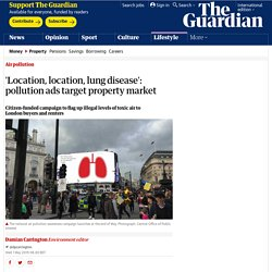 'Location, location, lung disease': pollution ads target property market