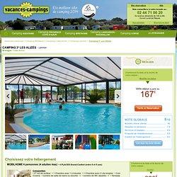 Tarifs hébergements Camping 3 étoiles Les Alizés - location en mobil home à Lannion.