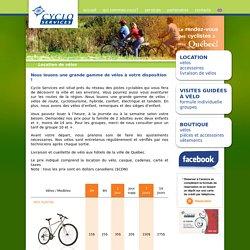 Location de vélos - Cyclo Services