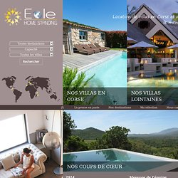 Location Villas Corse - Eole Home Standing