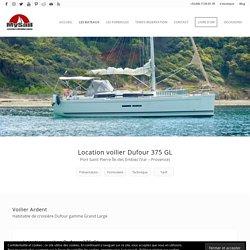 Location voilier Dufour 375 GL en Méditerranée, ile des Embiez