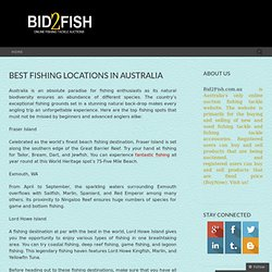 Best Fishing Locations in Australia