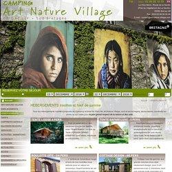 Locations haut de gamme et insolites en camping Bretagne Sud - Hebergements insolites en Bretagne sud - Séjour en Roulotte en Bretagne - Week end insolite en Bretagne - Séjour Tente lodge nature ou luxe en Bretagne. - Camping Art Nature Village