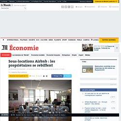 Sous-locations Airbnb: les propriétaires se rebiffent
