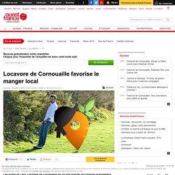 OUEST FRANCE 20/01/16 Locavore de Cornouaille favorise le manger local