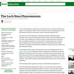 Loch Ness Phenomenon - Not a Loch Ness Monster
