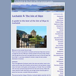 Lochalsh Tourist Guide - the best of Lochalsh and the Isle of Skye