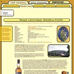 Lochnagar - Scotch malt whisky distillery profile