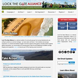 Lock The Gate Alliance Inc