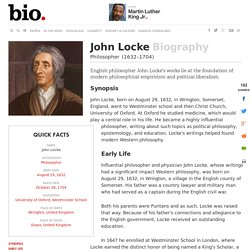 John Locke - Biography - Philosopher - Biography.com