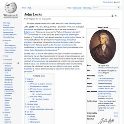 social contract theory john locke essay Although similar ideas can be traced back to the greek sophists, social-contract theories had their greatest currency in the 17th and 18th centuries and are associated with such names as the englishmen thomas hobbes and john locke and the frenchman jean-jacques rousseau what distinguished these theories of.
