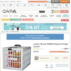 Locker Brand 157281 Original Fridge Locker