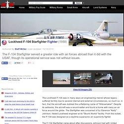 Lockheed F-104 Starfighter - Fighter