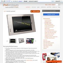 Locking iPad Kiosk . iPad Enclosures