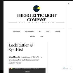 LockRattler & SystHist