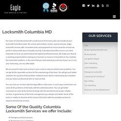 Locksmith Columbia