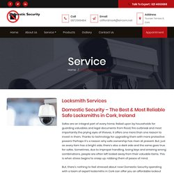 Locksmith Service Provider In Cork