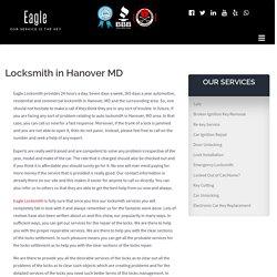 Locksmith in Hanover