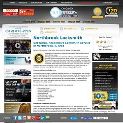 Local Chicago Locksmith 312-878-2715 - Chicago Locksmiths is a A Local Chicago Locksmith Company Providing local Locksmith Services in the Entire Chicago Area