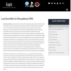 Locksmith in Pasadena