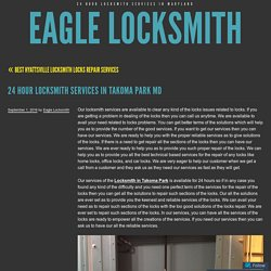 Locksmith in Takoma Park