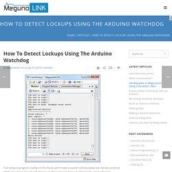 Detect Lockups