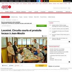 OUEST FRANCE 14/10/15 Locminé. Circuits courts et produits locaux à Jean-Moulin