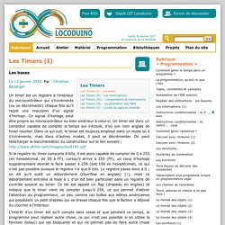 LOCODUINO - Les Timers (I)