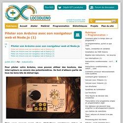 LOCODUINO - Piloter son Arduino avec son navigateur web et Node.js (1)