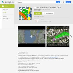 Locus Pro - Applications Android sur Google Play